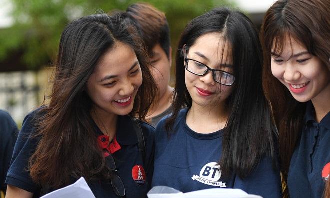 Điểm xét tuyển Đại học đã giảm bớt được nỗi lo