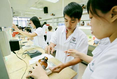 Sinh viên Cao đẳng Dược