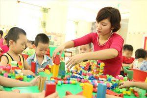 Yêu cầu chuẩn nghề nghiệp giáo viên mầm non