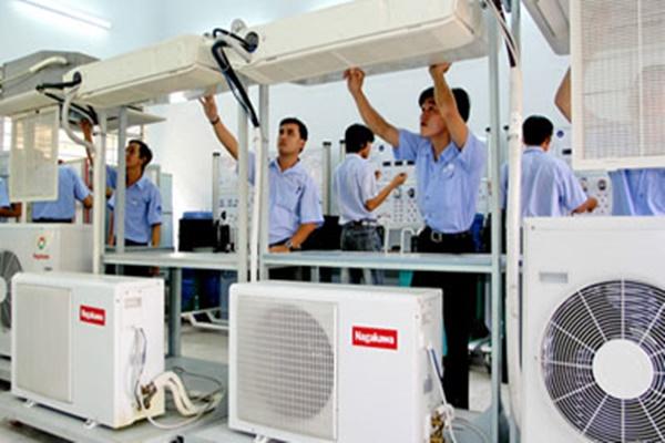 nghề điện lạnh mang đến nhiều cơ hội việc làm cho học viên